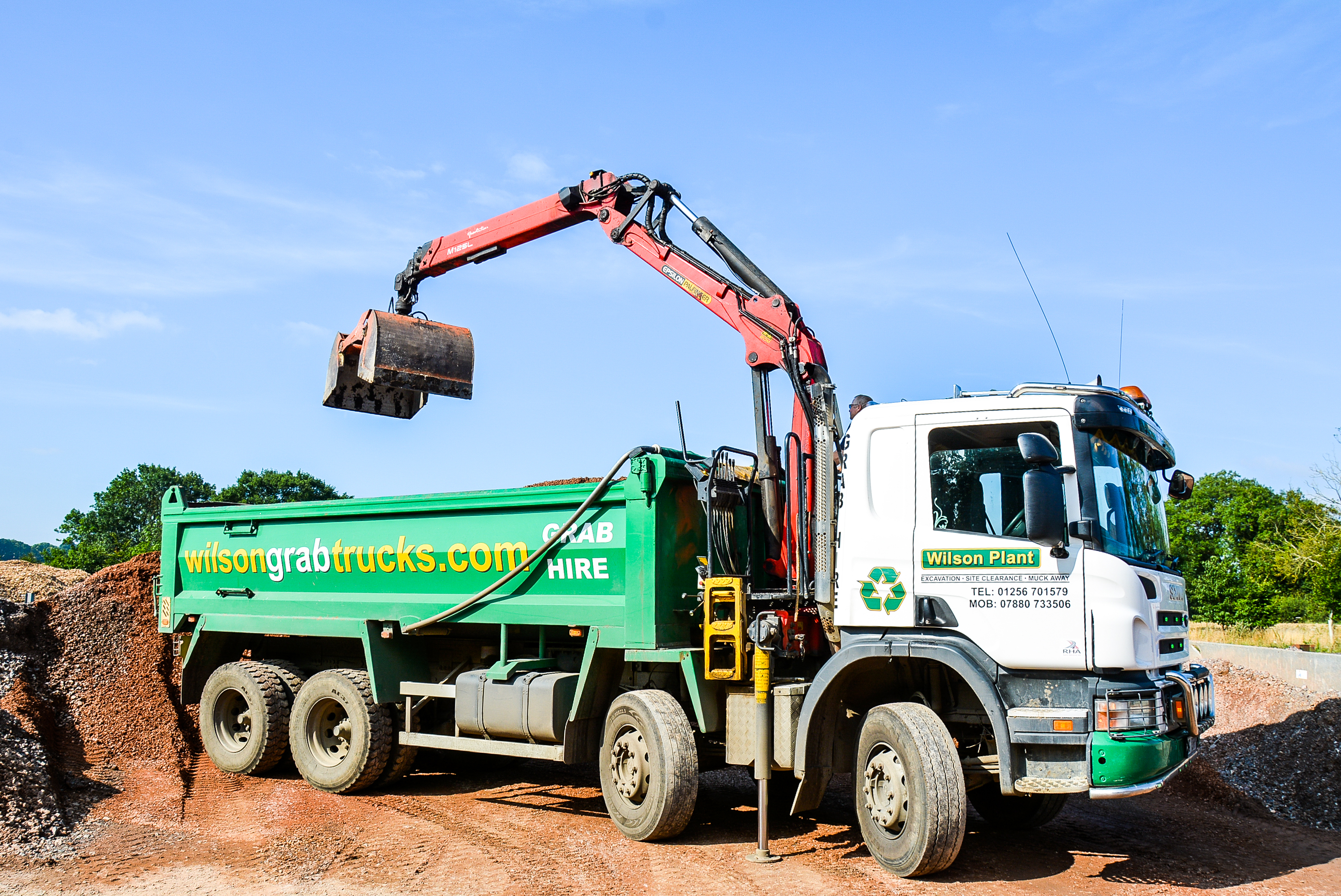 Wilson Plan will provide you with only the best plant equipment when you choose our plant hire services. Click to find out more.
